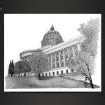 Missouri State Capitol by artist Scott Loethen